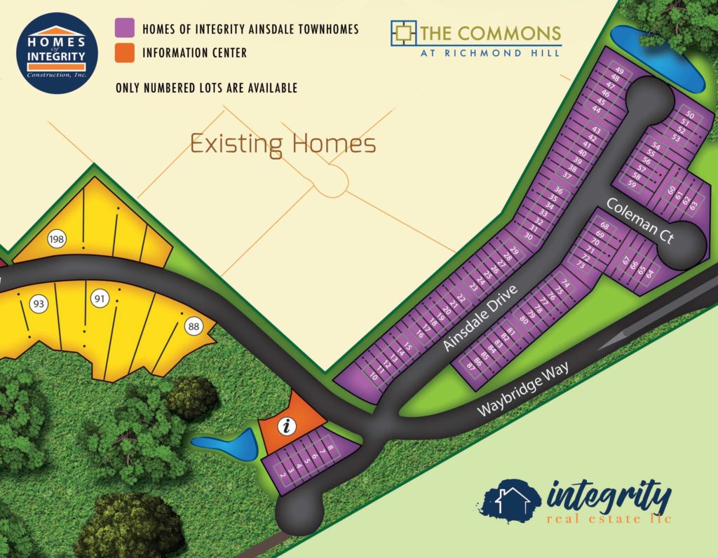 Ainsdale - The Commons at Richmond Hill - Integrity New Homes